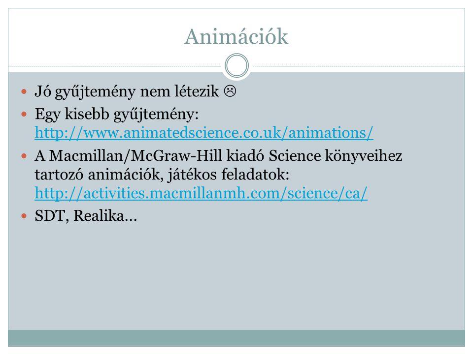 Animációk Jó gyűjtemény nem létezik 