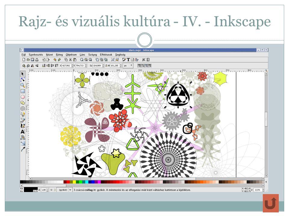 Rajz- és vizuális kultúra - IV. - Inkscape