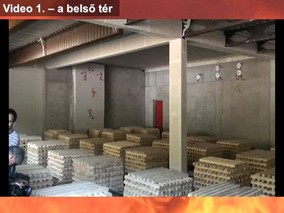 Video 1. – a belső tér