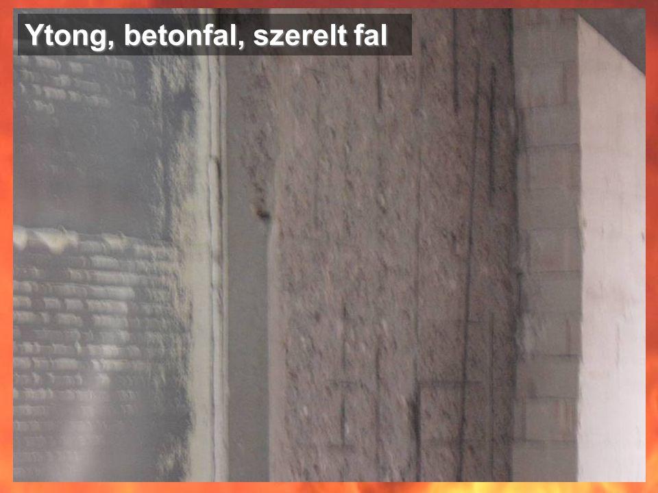 Ytong, betonfal, szerelt fal