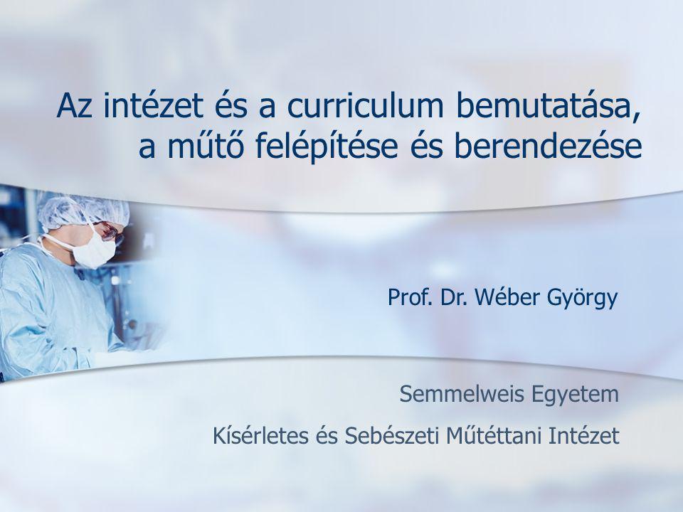 Semmelweis Egyetem Kísérletes és Sebészeti Műtéttani Intézet