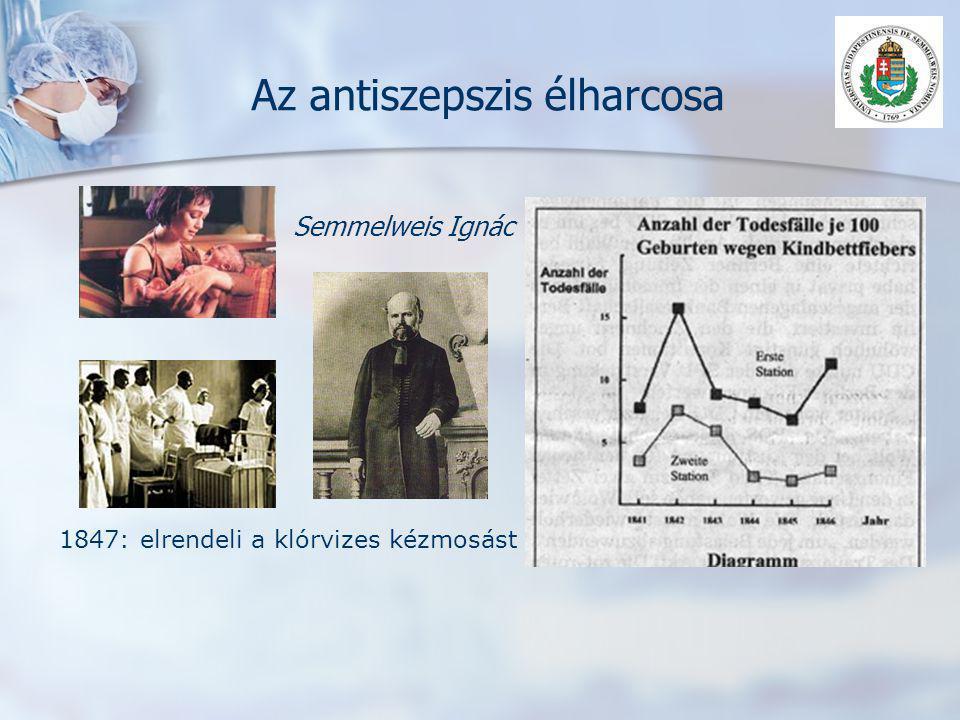 Az antiszepszis élharcosa