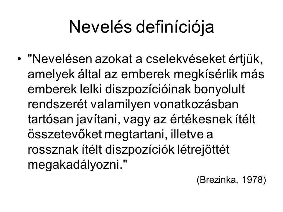 Nevelés definíciója