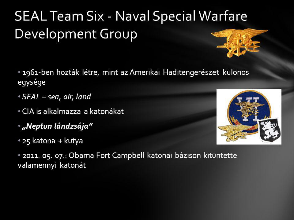 SEAL Team Six - Naval Special Warfare Deve­lopment Group