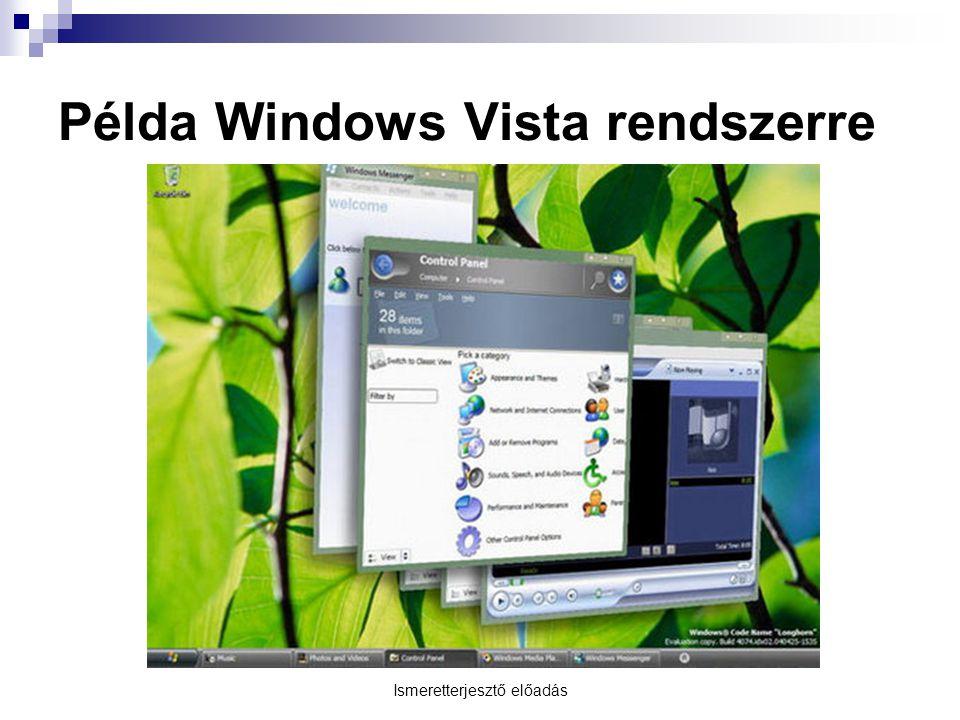 Példa Windows Vista rendszerre