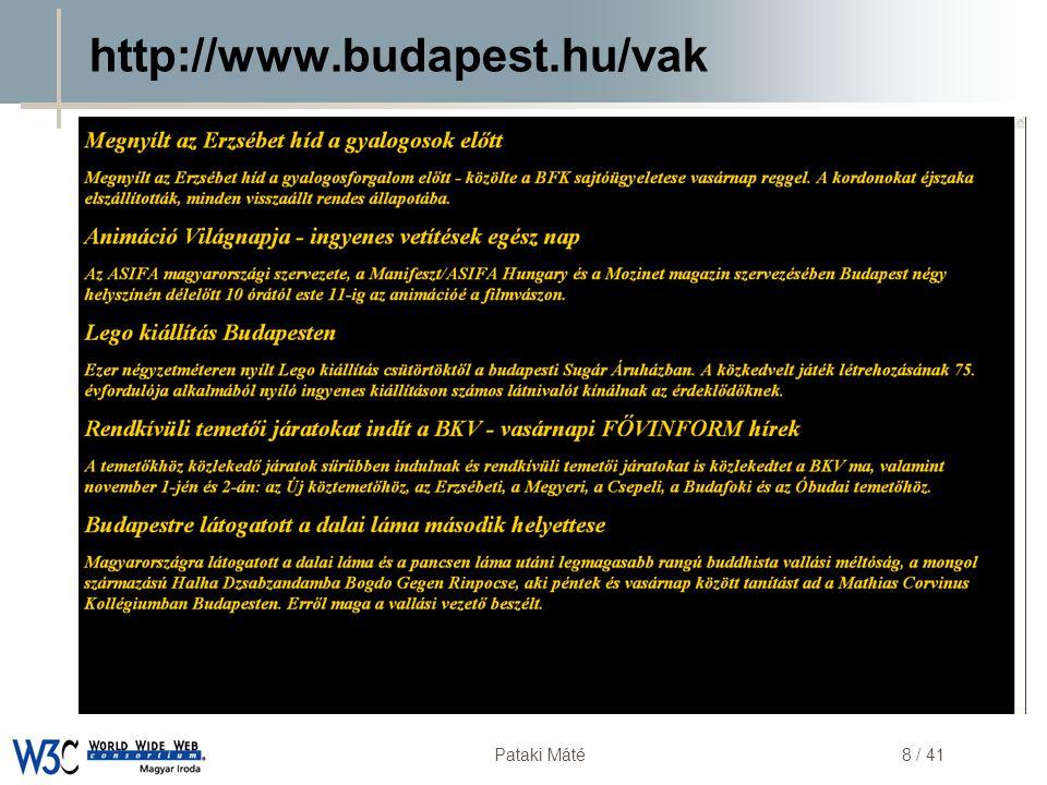 http://www.budapest.hu/vak