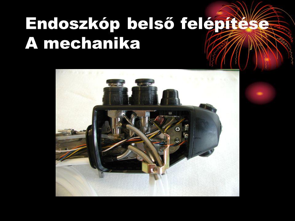 Endoszkóp belső felépítése A mechanika