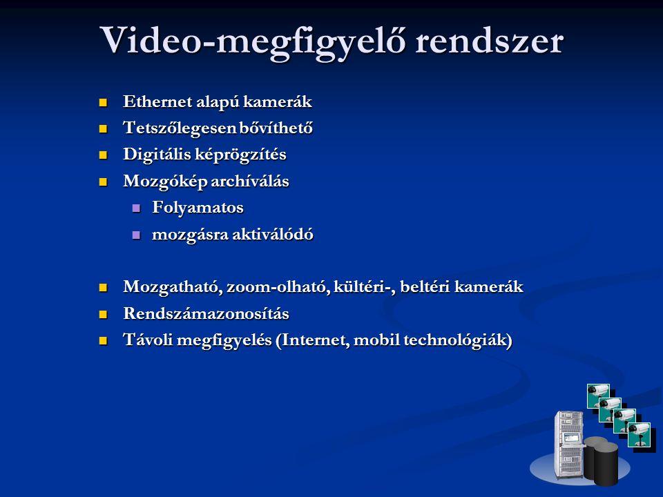 Video-megfigyelő rendszer