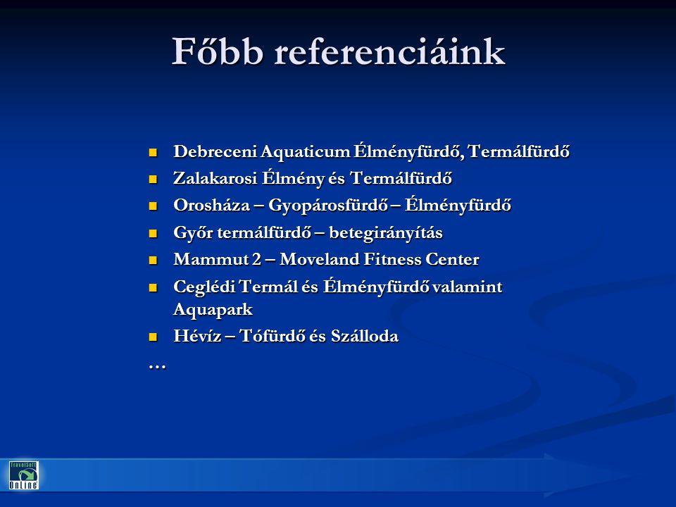 Főbb referenciáink Debreceni Aquaticum Élményfürdő, Termálfürdő