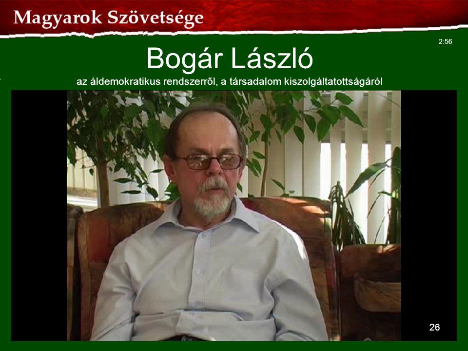 Bogár László az áldemokratikus rendszerről, a társadalom kiszolgáltatottságáról