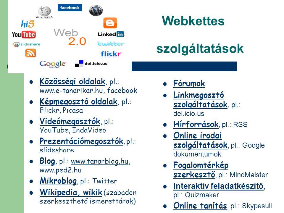 Webkettes szolgáltatások