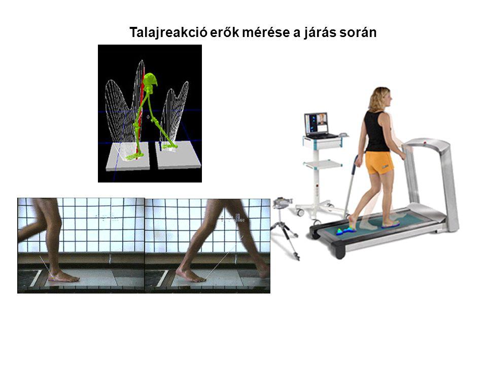 Talajreakció erők mérése a járás során