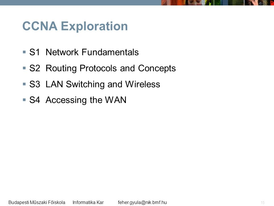 CCNA Exploration S1 Network Fundamentals