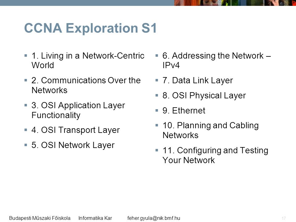 CCNA Exploration S1 1. Living in a Network-Centric World