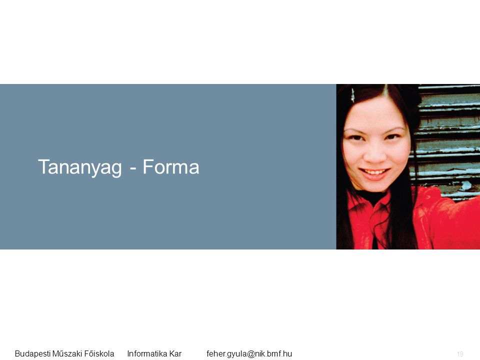 Tananyag - Forma
