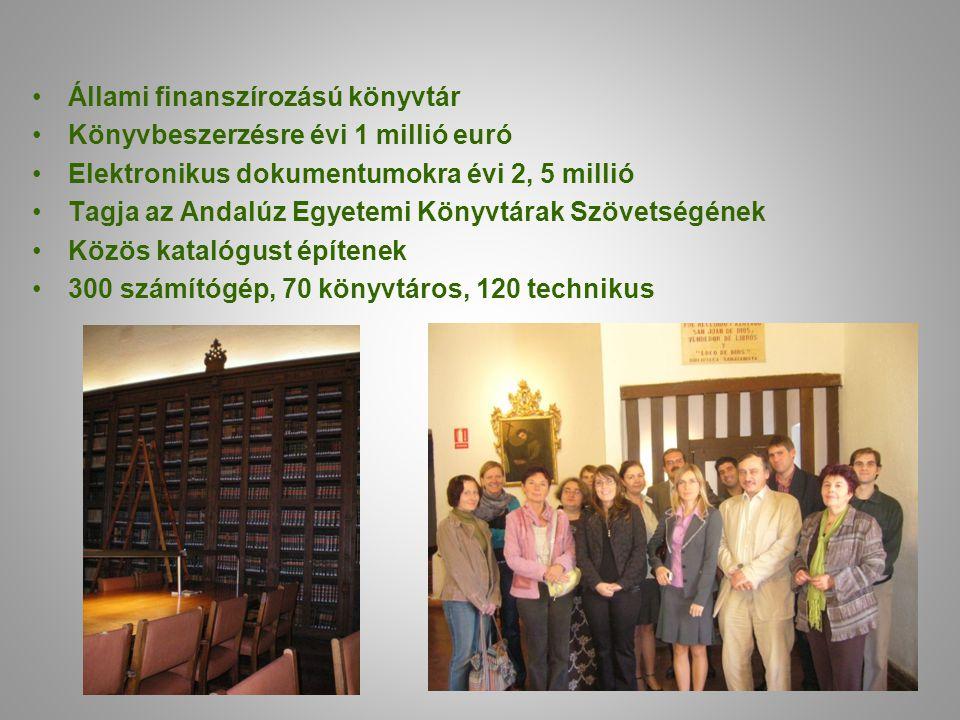 Állami finanszírozású könyvtár