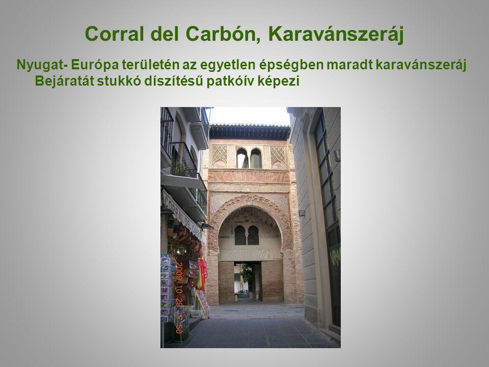 Corral del Carbón, Karavánszeráj
