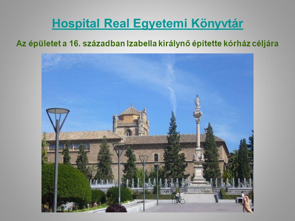 Hospital Real Egyetemi Könyvtár