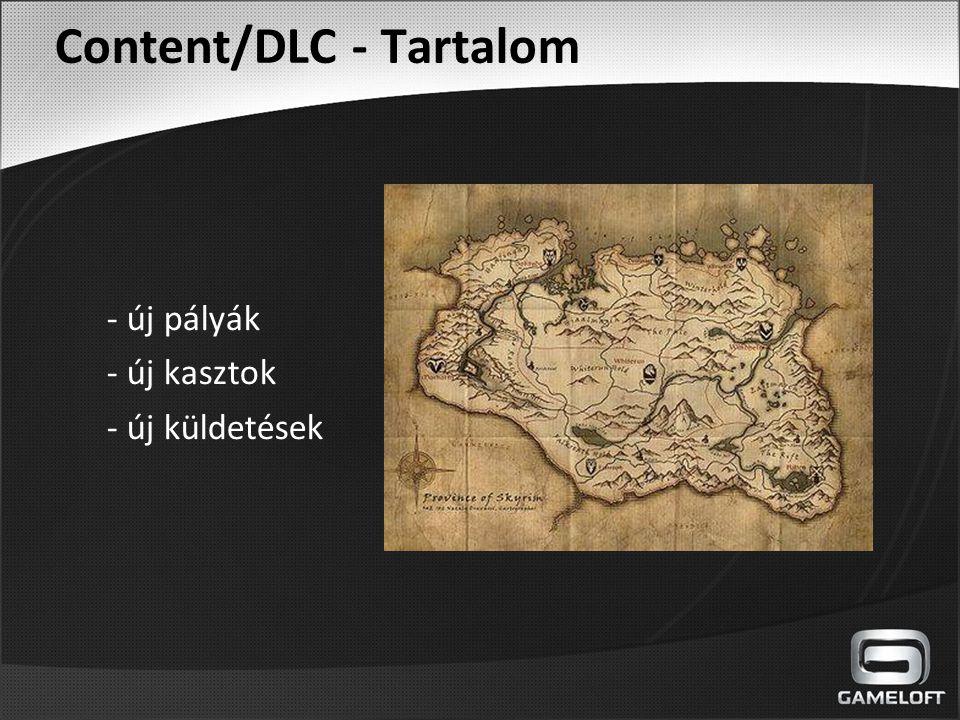 Content/DLC - Tartalom