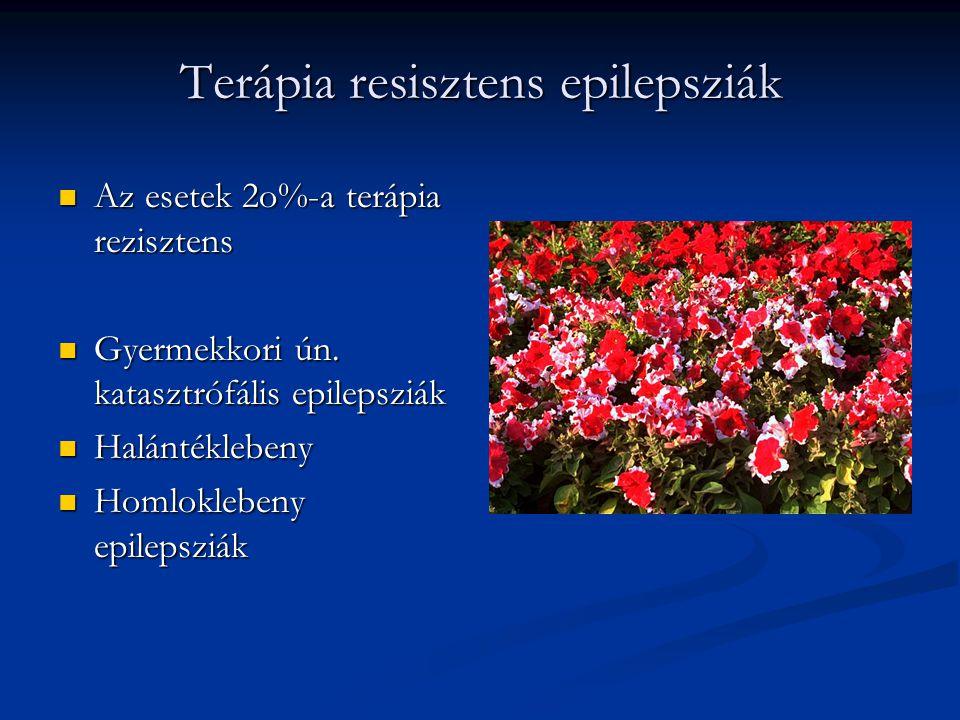 Terápia resisztens epilepsziák