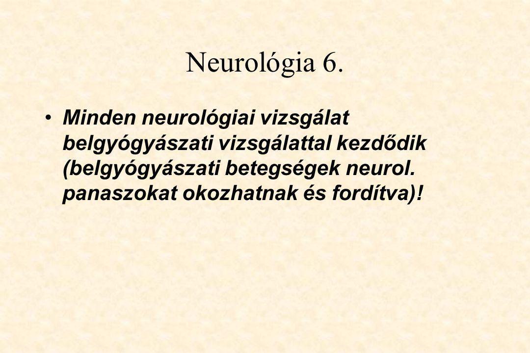 Neurológia 6.