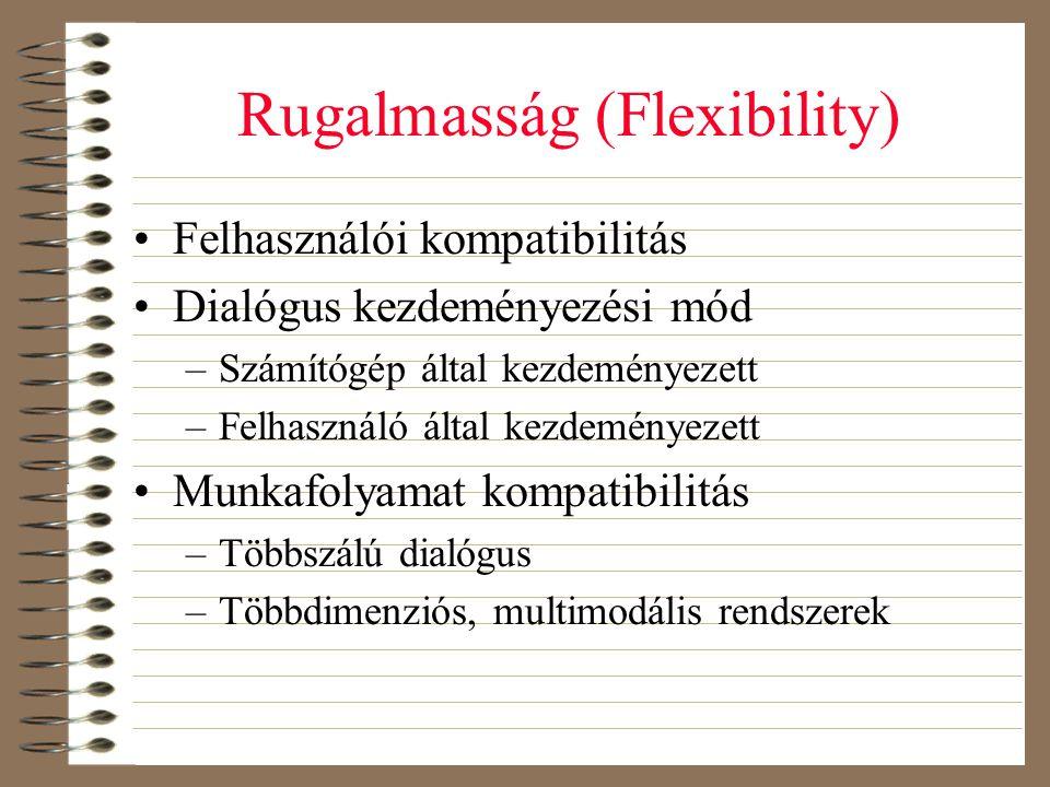 Rugalmasság (Flexibility)