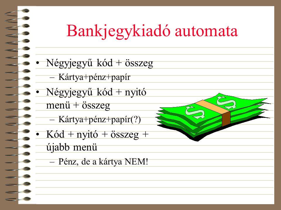 Bankjegykiadó automata