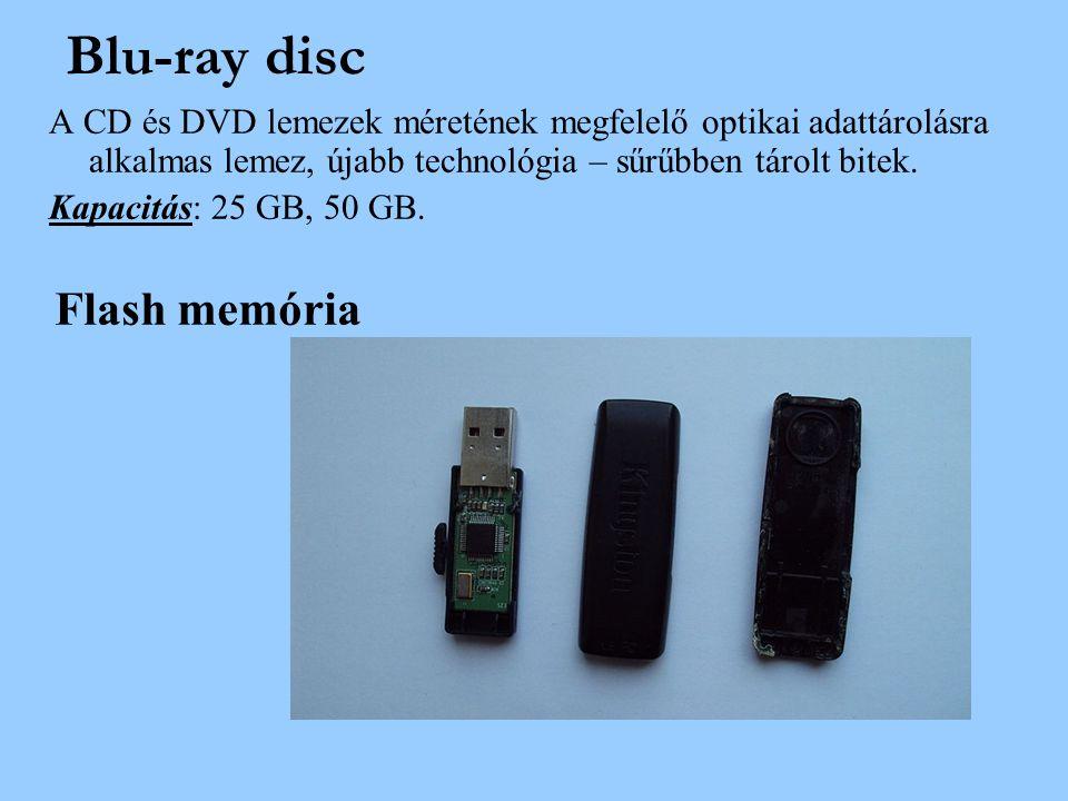 Blu-ray disc Flash memória
