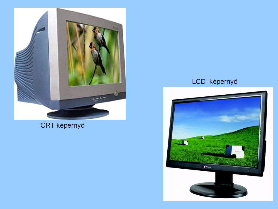 LCD_képernyő CRT képernyő
