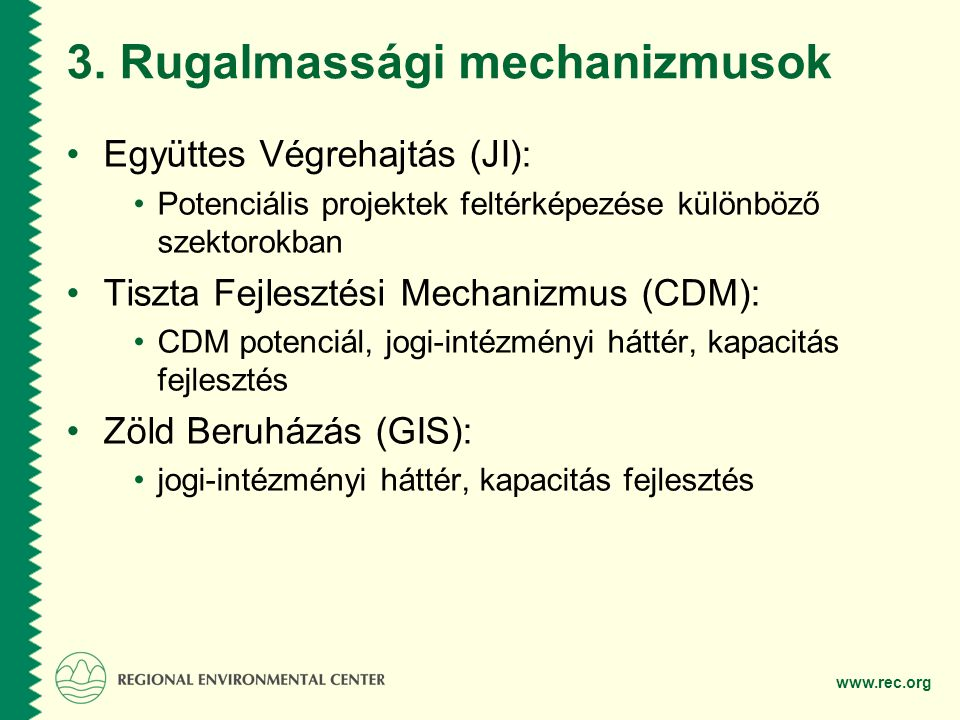 3. Rugalmassági mechanizmusok