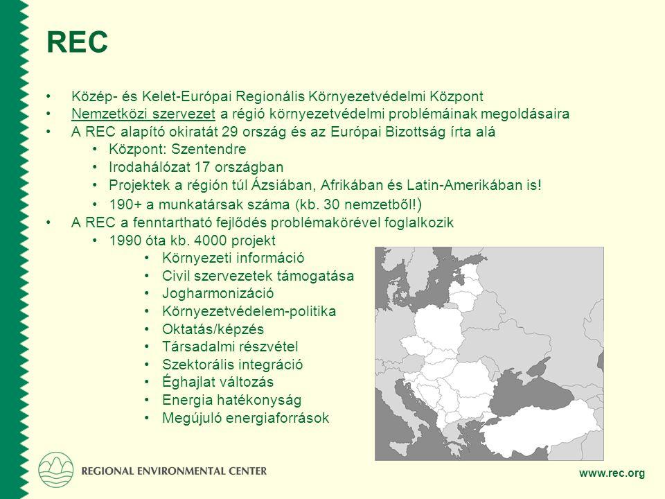 REC Közép- és Kelet-Európai Regionális Környezetvédelmi Központ