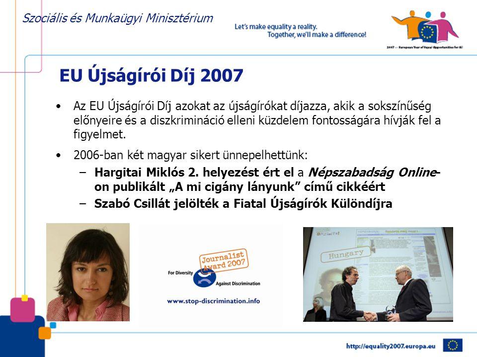 EU Újságírói Díj 2007