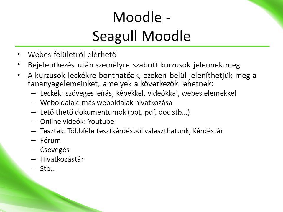 Moodle - Seagull Moodle