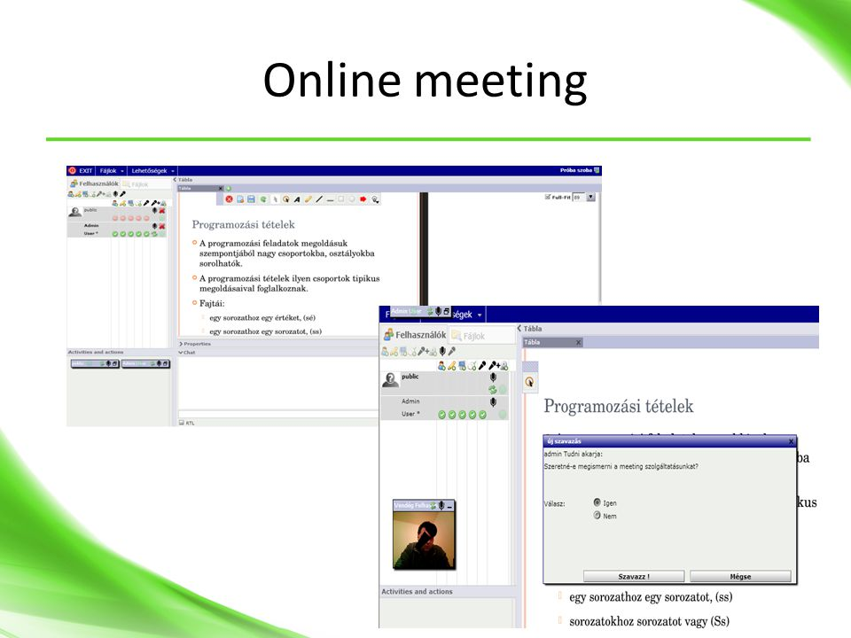 Online meeting Openmeeting
