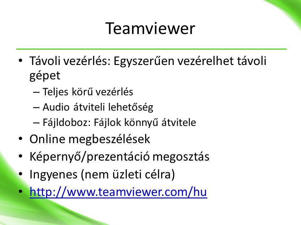 Teamviewer Távoli vezérlés: Egyszerűen vezérelhet távoli gépet