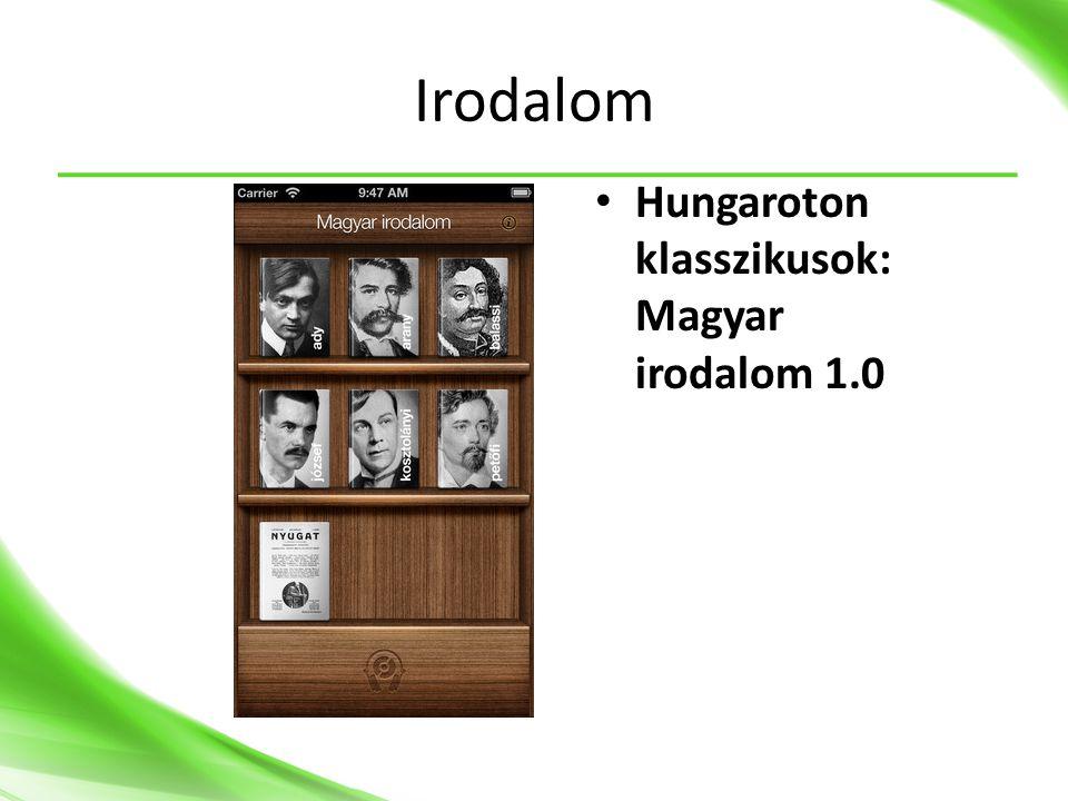 Irodalom Hungaroton klasszikusok: Magyar irodalom 1.0