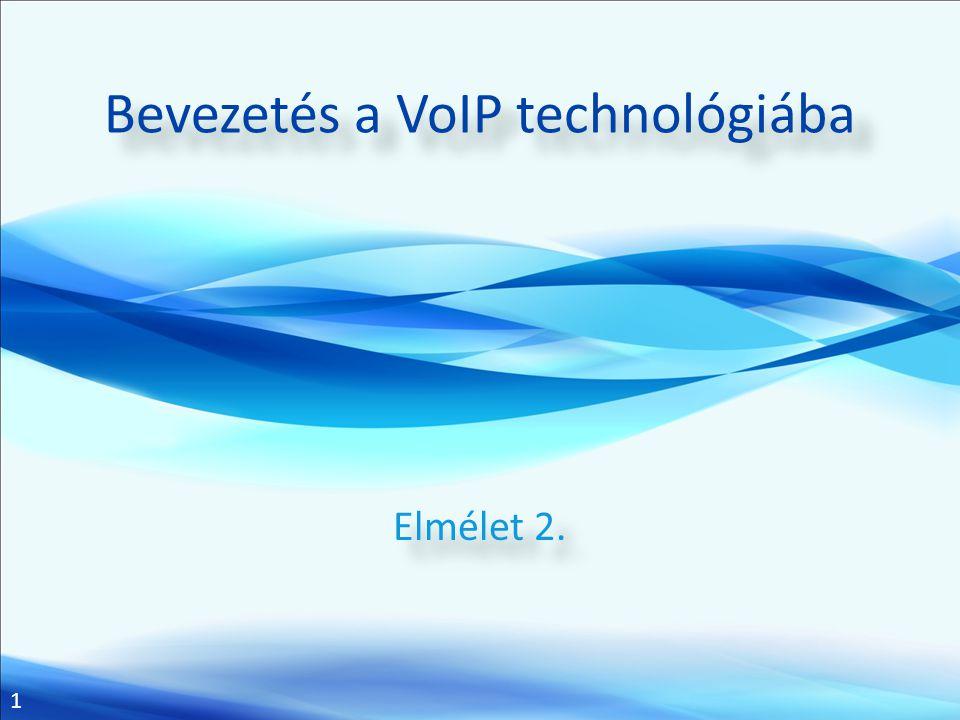 Bevezetés a VoIP technológiába