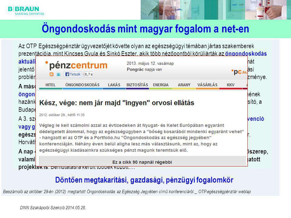 Öngondoskodás mint magyar fogalom a net-en