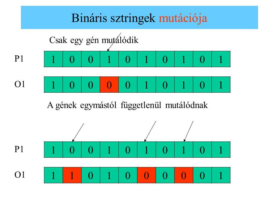 Bináris sztringek mutációja
