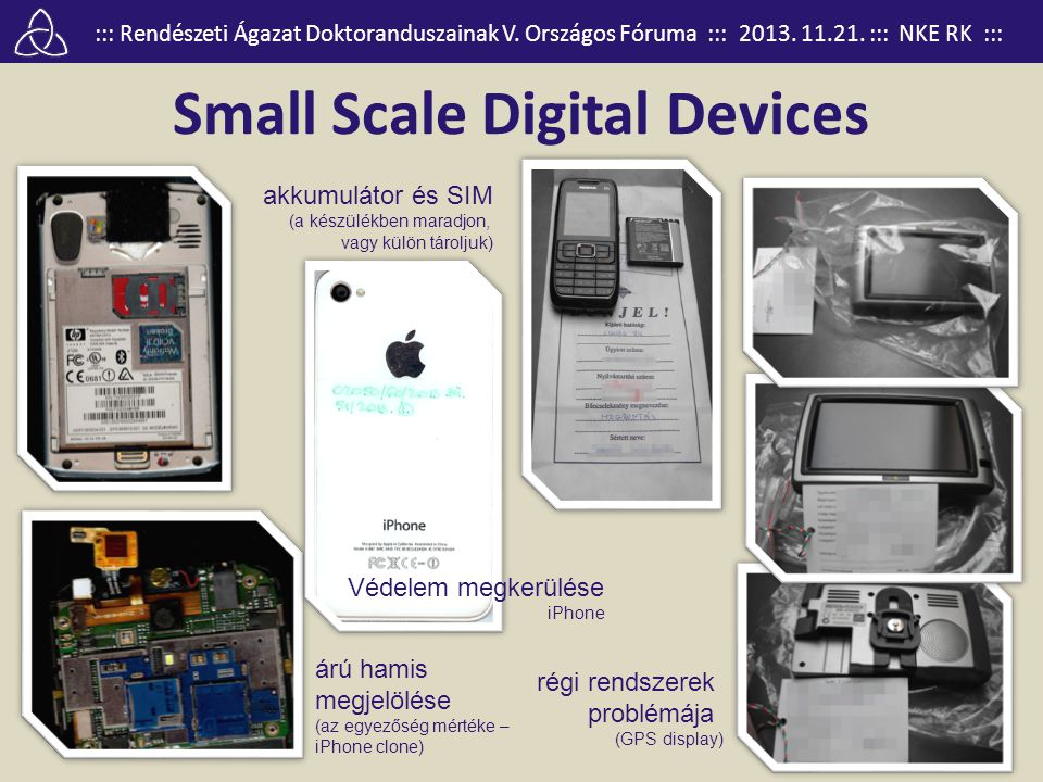 Small Scale Digital Devices