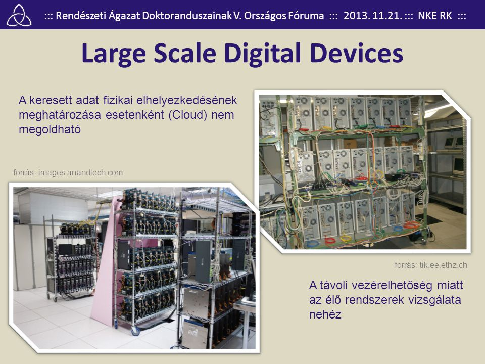 Large Scale Digital Devices