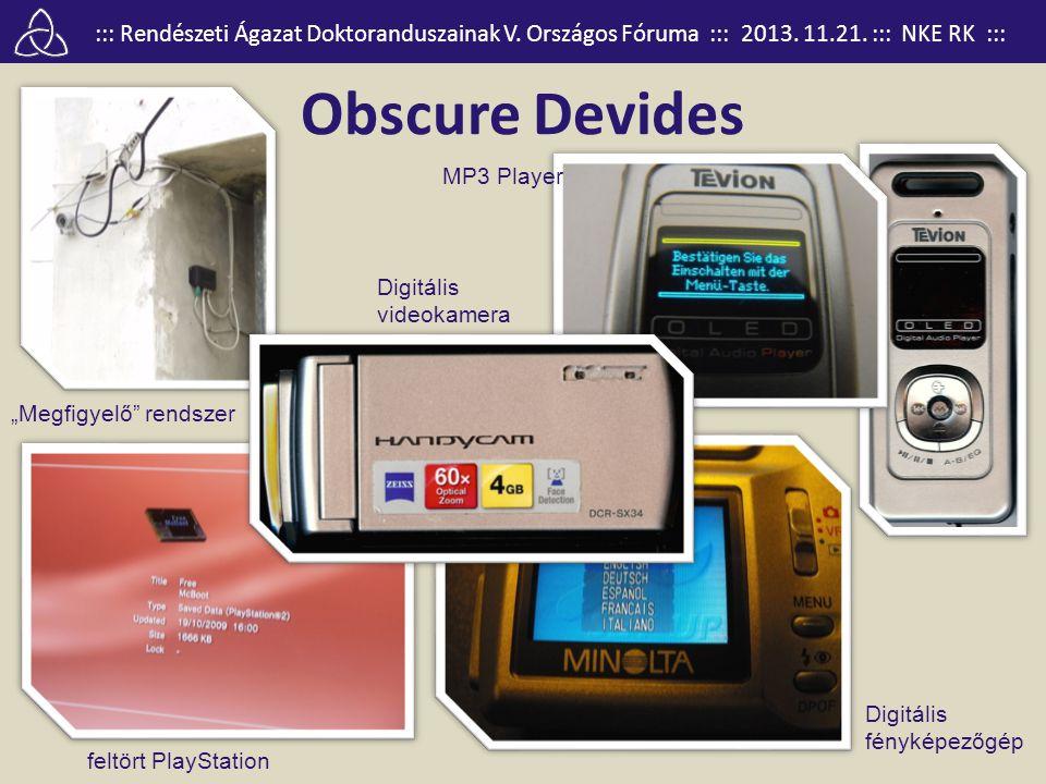"""Obscure Devides MP3 Player Digitális videokamera """"Megfigyelő rendszer"""