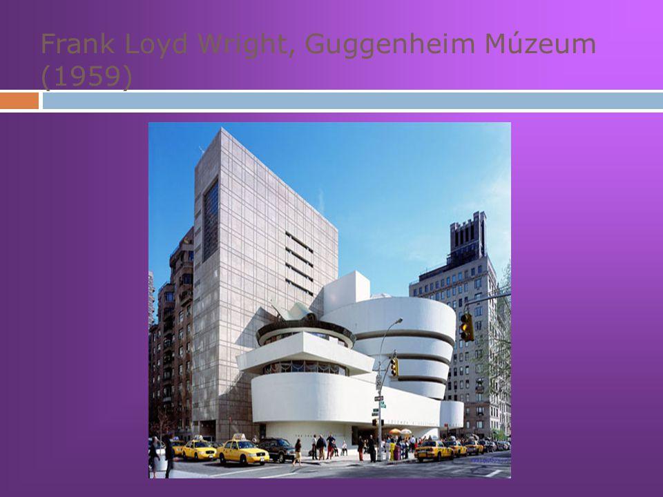 Frank Loyd Wright, Guggenheim Múzeum (1959)