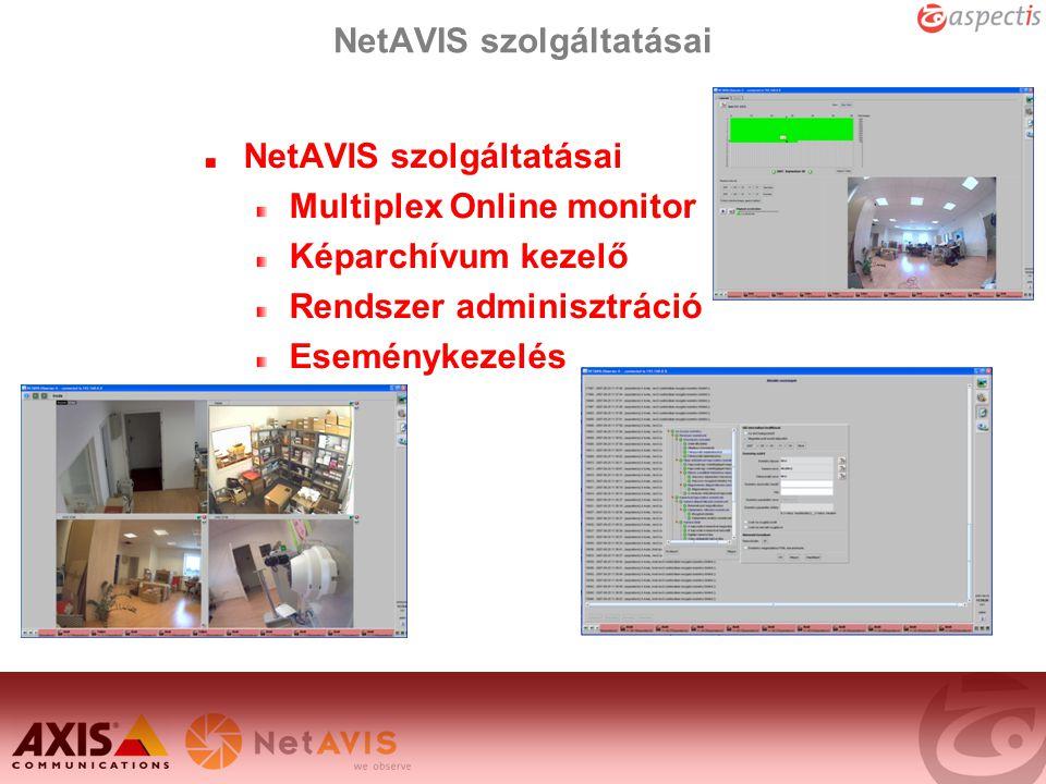 NetAVIS szolgáltatásai