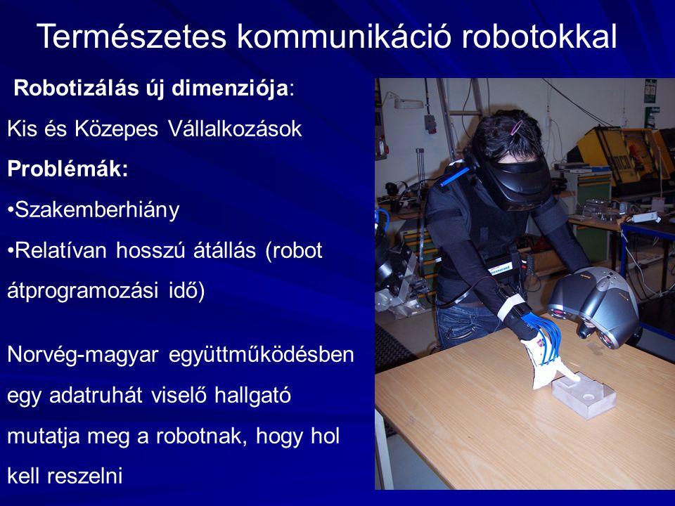 Természetes kommunikáció robotokkal
