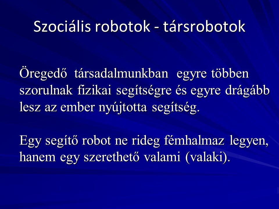 Szociális robotok - társrobotok
