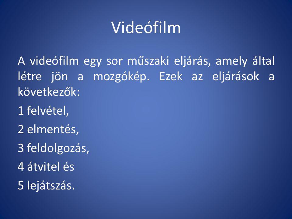 Videófilm