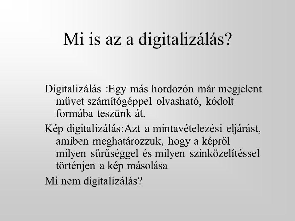 Mi is az a digitalizálás