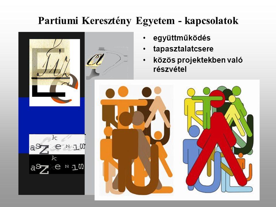 Partiumi Keresztény Egyetem - kapcsolatok