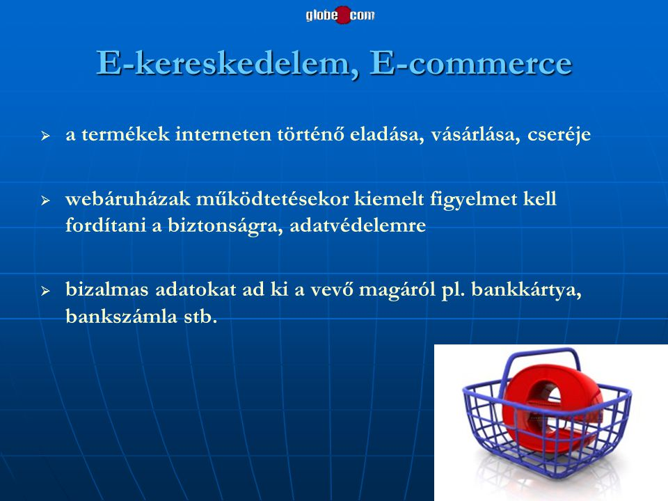 E-kereskedelem, E-commerce